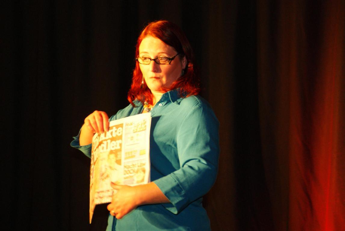 """Anny Hartmann - """"Humor ist, wenn man trotzdem wählt"""" - 27.10.2012"""