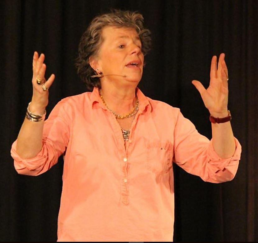 """Margie Kinsky - """"Ich bin so wild nach Deinem Erdbeerpudding"""" - 12.12.2015"""