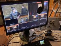 Live-Streamning - Hinter den Kulissen